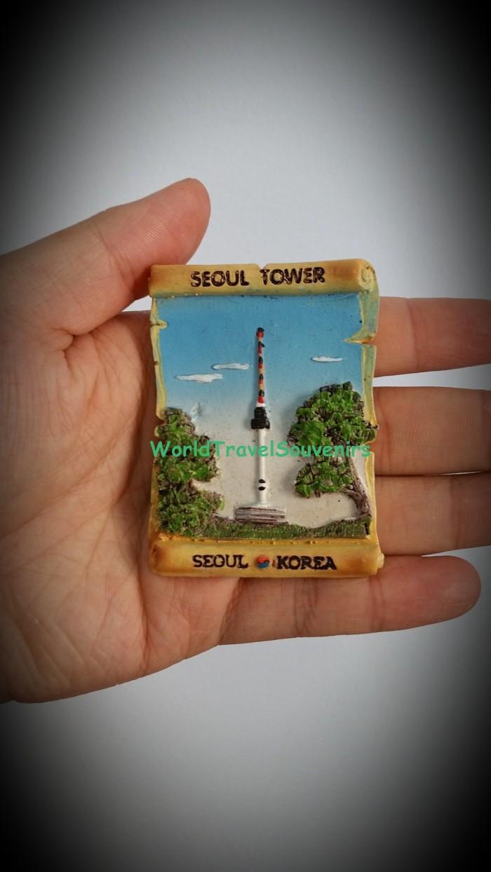 Jual Jual Magnet Kulkas Seoul Tower Dari Negara Korea Untuk Souvenir Kab Tangerang Worldtravelsouvenirs