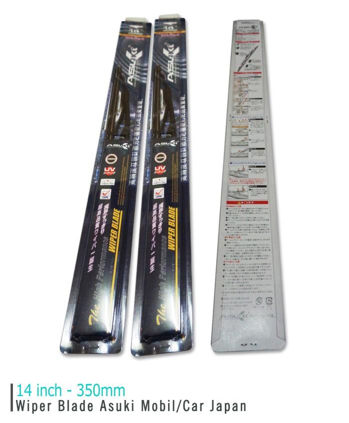 harga Wiper blade asuki japan wiper blade car/mobil 14 inch jepang best deal Tokopedia.com