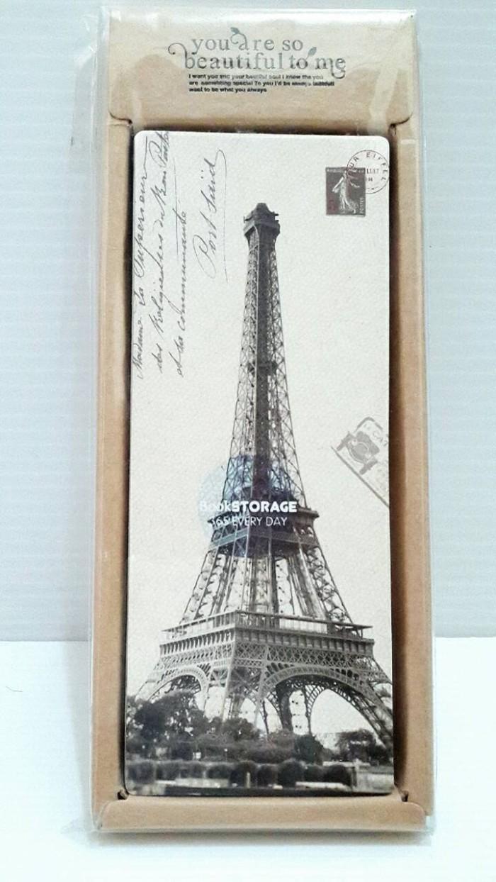 Jual Pembatas Buku Menara Eiffel Paris Vintage Isi 26 Perbox Kab Bekasi Garagesale Onlineshop
