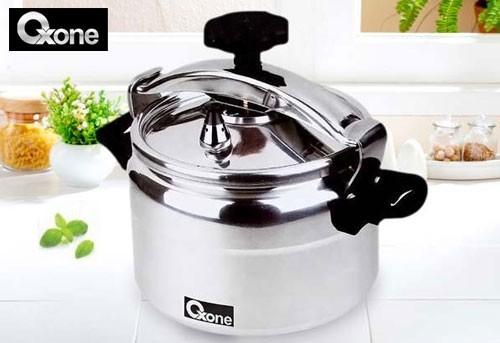 Oxone Pressure Cooker Alupress 4 Liter OX-2004 - Silver