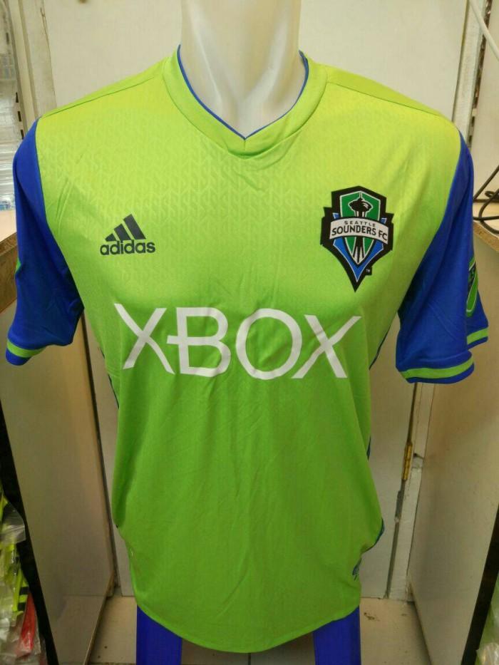 wholesale dealer ae5c5 553af Jual Jersey Adidas Seattle Sounders Home MLS Top Grade Ori 2016/17 - Kota  Bandung - fsbolasport | Tokopedia