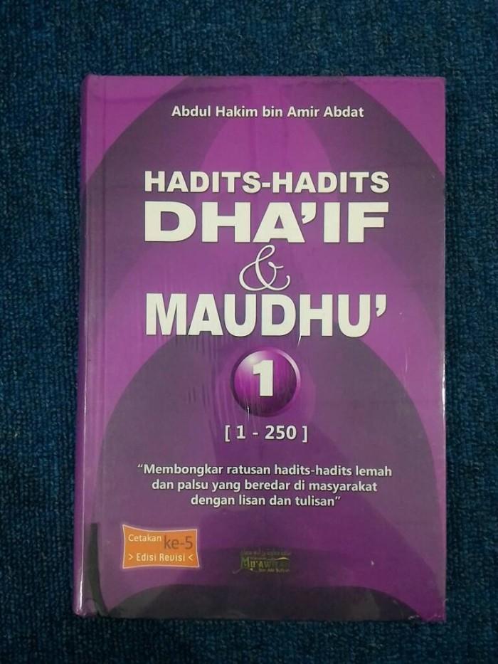 Jual Hadits Hadits Dhaif Dan Maudhu 1 Abdul Hakim Buku Sunnah
