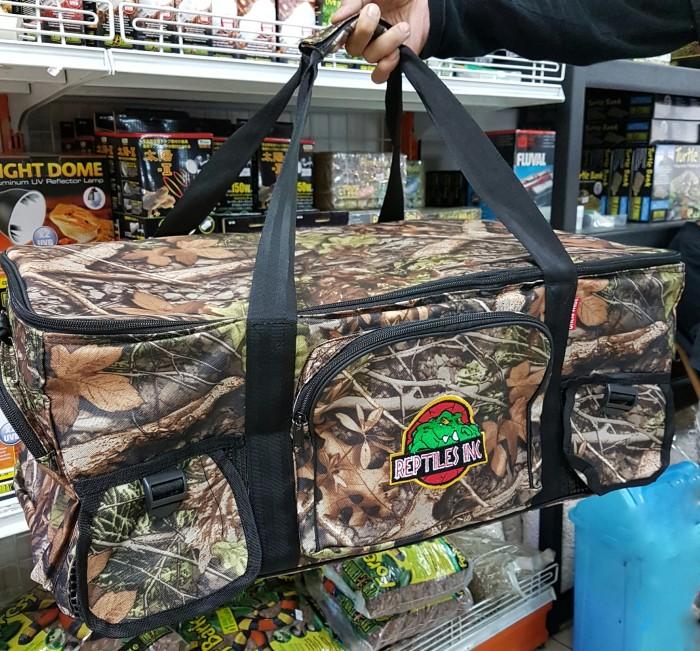 Jual Tas Reptil Large Motif Natural (Model travel bag) - Reptiles ... dab7852591