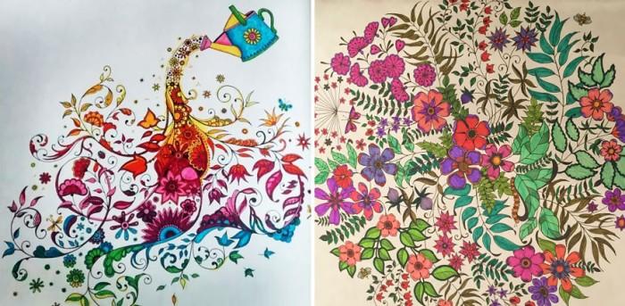 Secret Garden Coloring Book Original Korean Version
