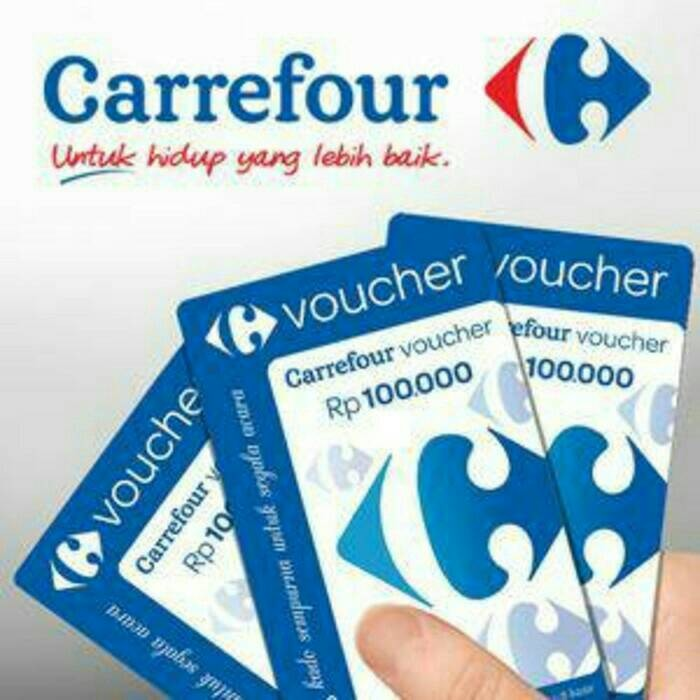 harga Voucher carrefour 100rb expired juni 2017 Tokopedia.com