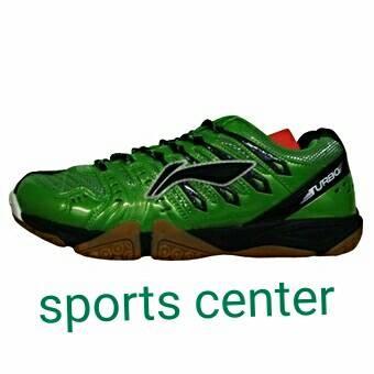 harga Hot promo ! sepatu badminton lining turbo plus aytk063-1 green Tokopedia.com