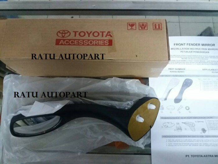 harga Spion fender samping asli toyota rush / terios Tokopedia.com