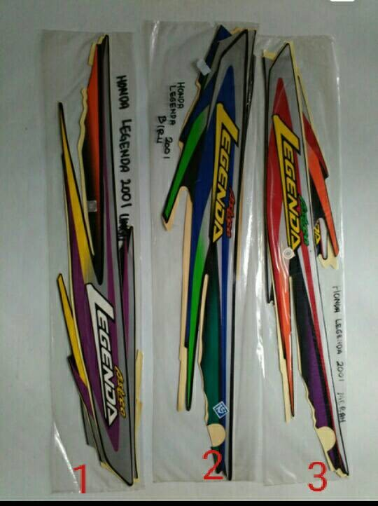 harga Sticker motor / striping motor honda legenda Tokopedia.com