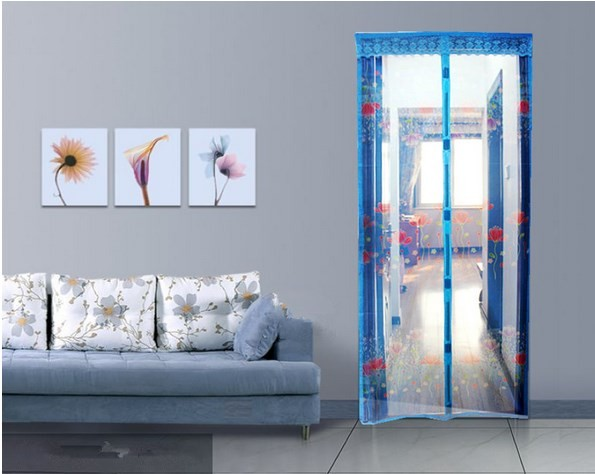 harga Tirai pintu magnet pinguin magnetic anti nyamuk dan serangga motif Tokopedia.com