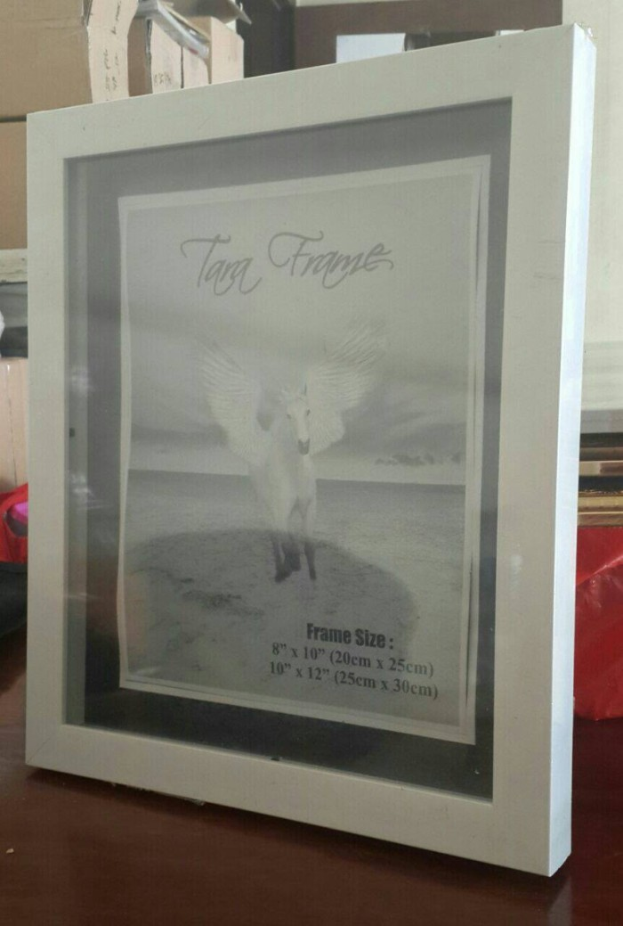 Jual Frame 3 dimensi ukuran 12R (25x30) - OLIVIA\'s Shop | Tokopedia