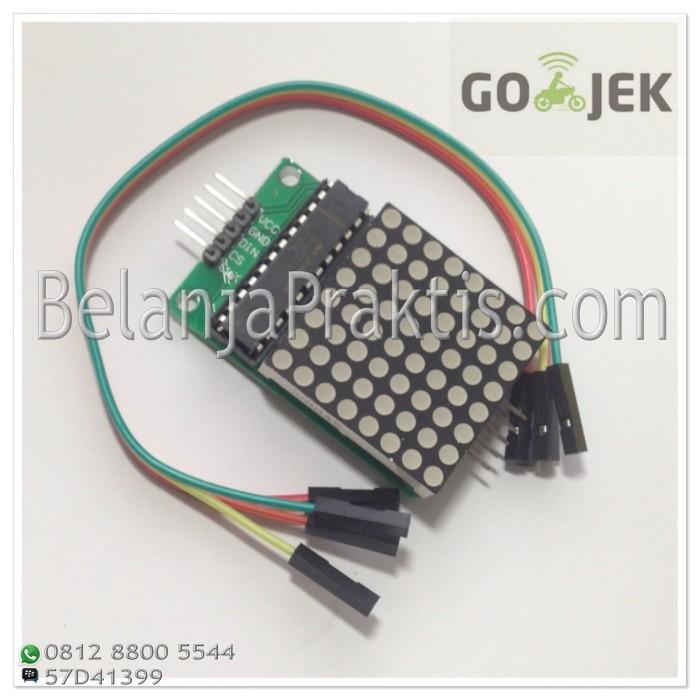 harga Max7219 dot matrix 8x8 module Tokopedia.com