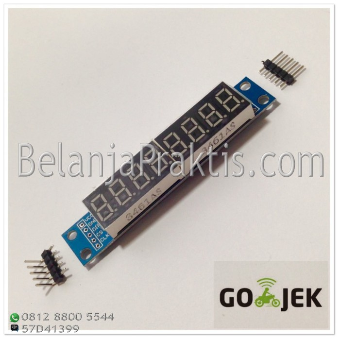 harga Max7219 led module 7 segmen / seven segment - 8 digit Tokopedia.com