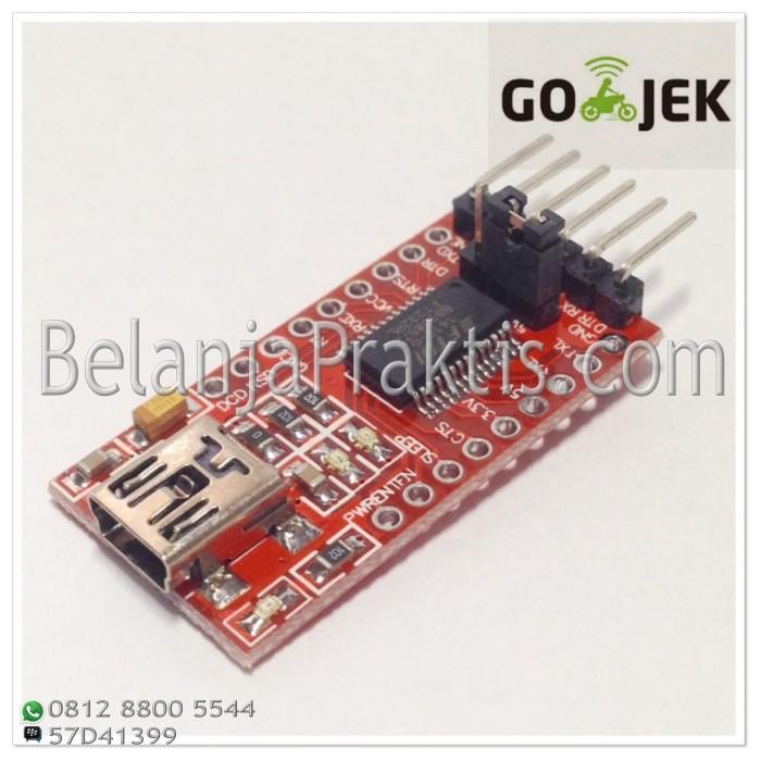 harga Ft232rl ftdi usb to ttl serial 3.3v 5v adapter module Tokopedia.com