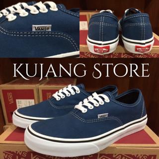 3406efd0266 harga Sepatu vans authentic navy blue original premium quality waffle dt  Tokopedia.com