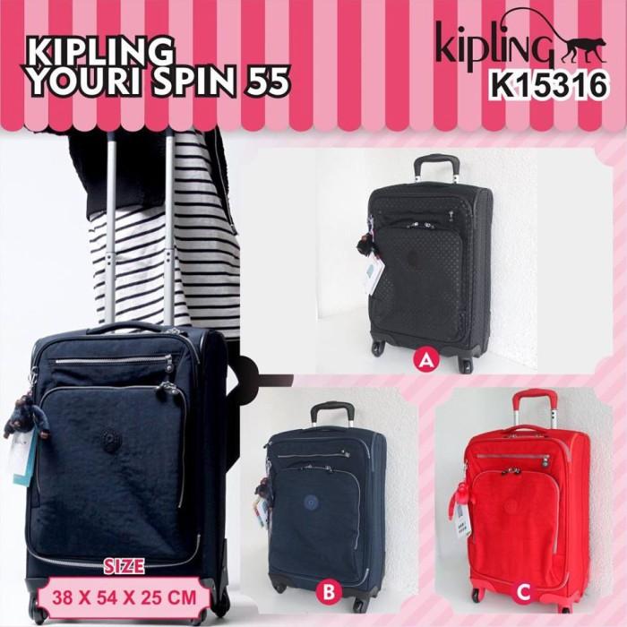 harga Kipling koper travel bag 55 15316 youri spin original Tokopedia.com