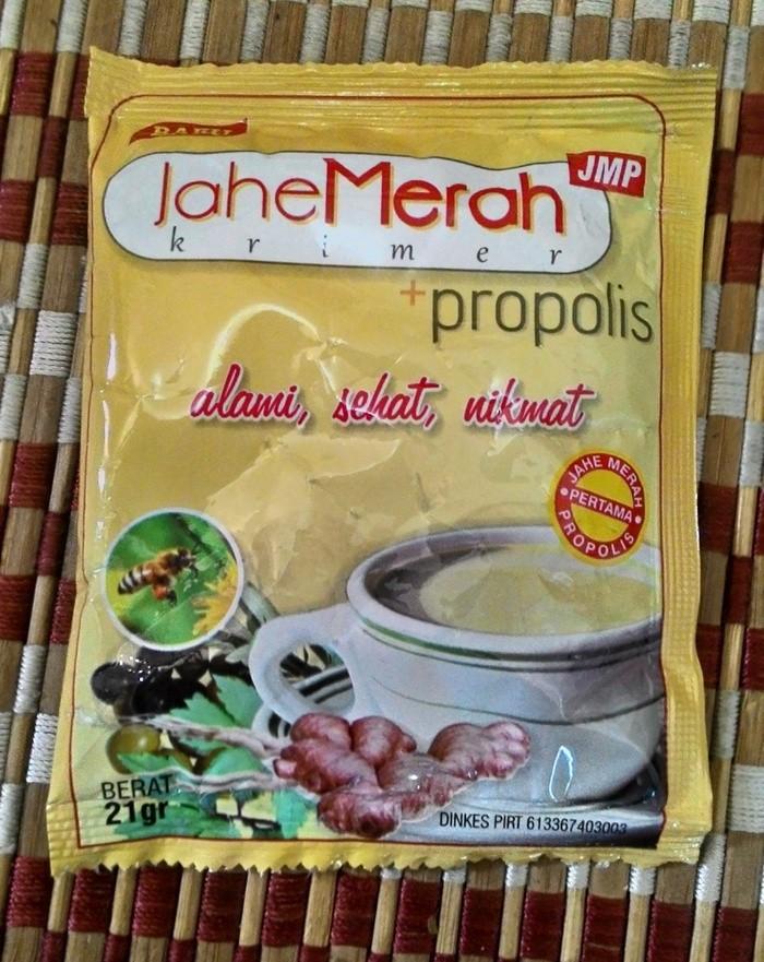 Jahe Merah Krimer Plus Propolis JMP / sachet