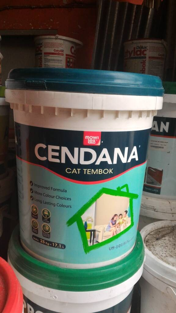 harga Cat tembok mowilex cendana (25 kg) Tokopedia.com