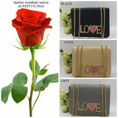 TAS FASHION IMPORT WARNA GOLD