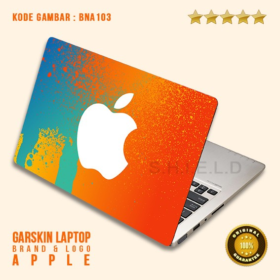 harga Garskin/skin/cover/stiker/sticker laptop protector-bn apple logo