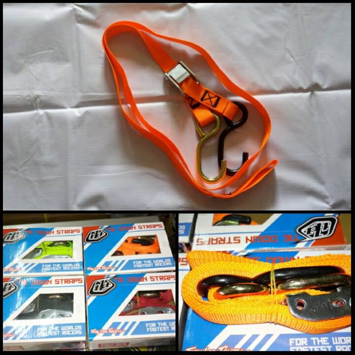 harga Aksesoris motor trail tie down straps tali pengikat motor trail tld Tokopedia.com