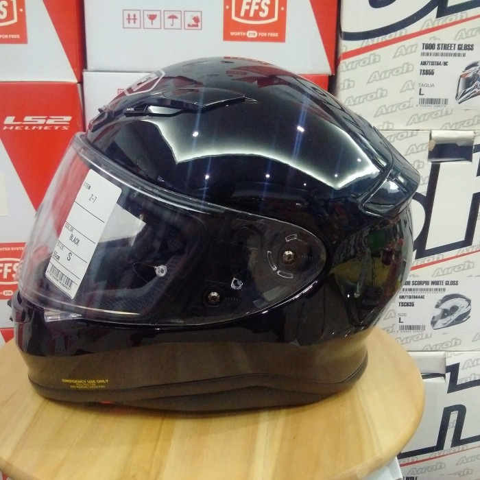 harga Helm shoei z-7 black full face ringan z7 not arai airoh shark bell Tokopedia.com