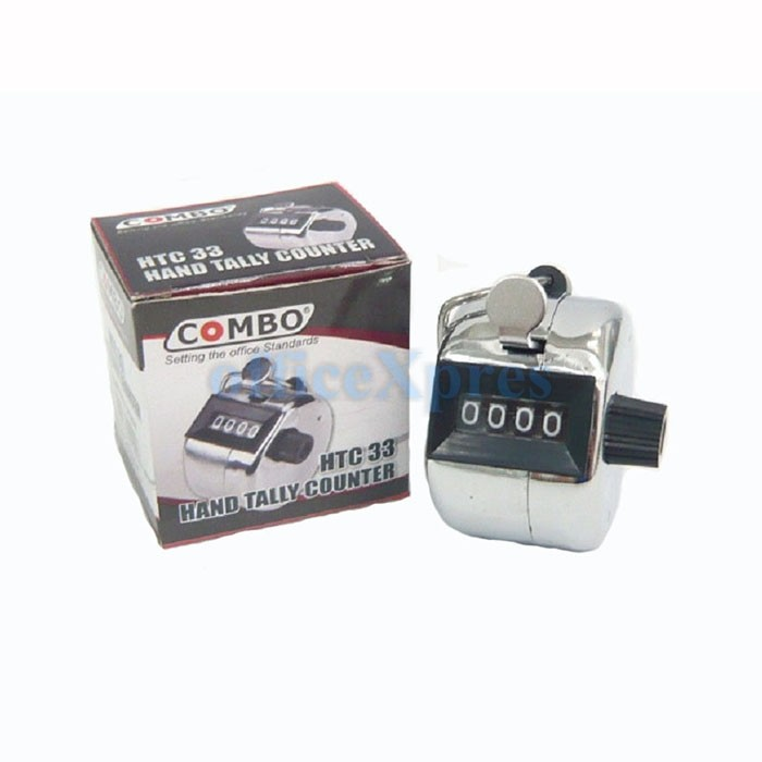 harga Combo hand tally counter htc 33 Tokopedia.com