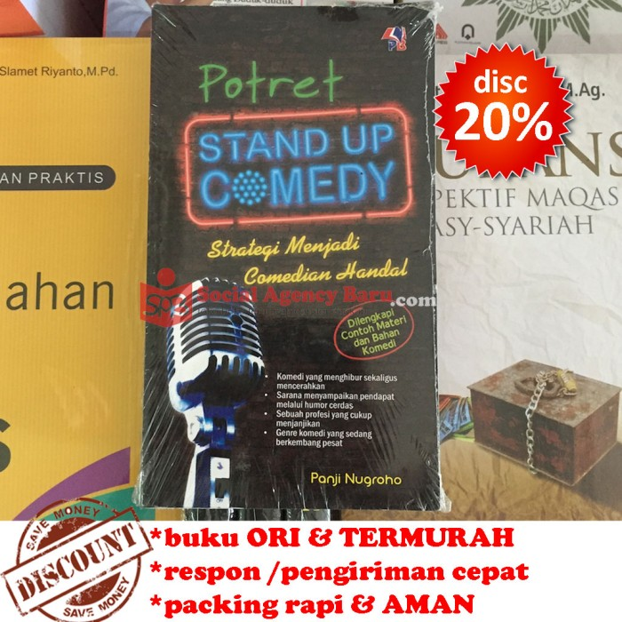harga Potret stand up comedy - panji nugroho Tokopedia.com