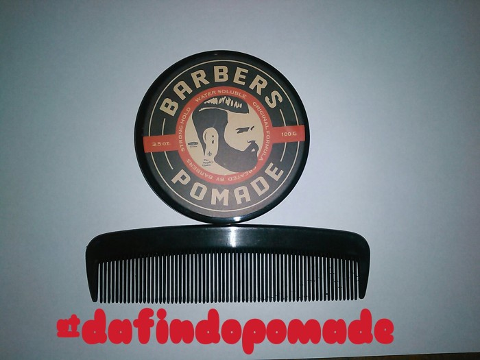 Barbers Pomade - Black Edition