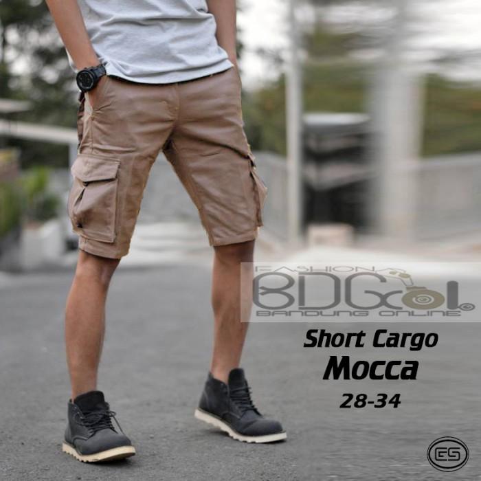 harga Celana cargo pendek mocca pdl pria kargo celana gunung moka hitam dc Tokopedia.com
