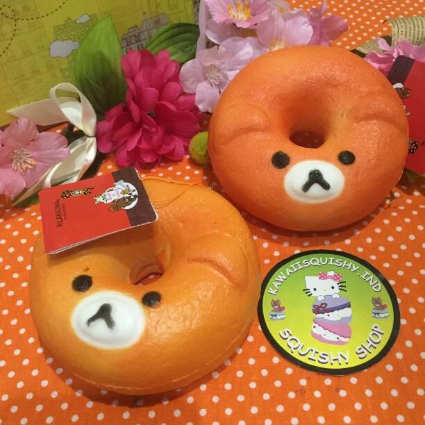Squishy Ind : Jual Jumbo Rilakuma Donut Squishy - KawaiiSquishy.IND Shop Tokopedia