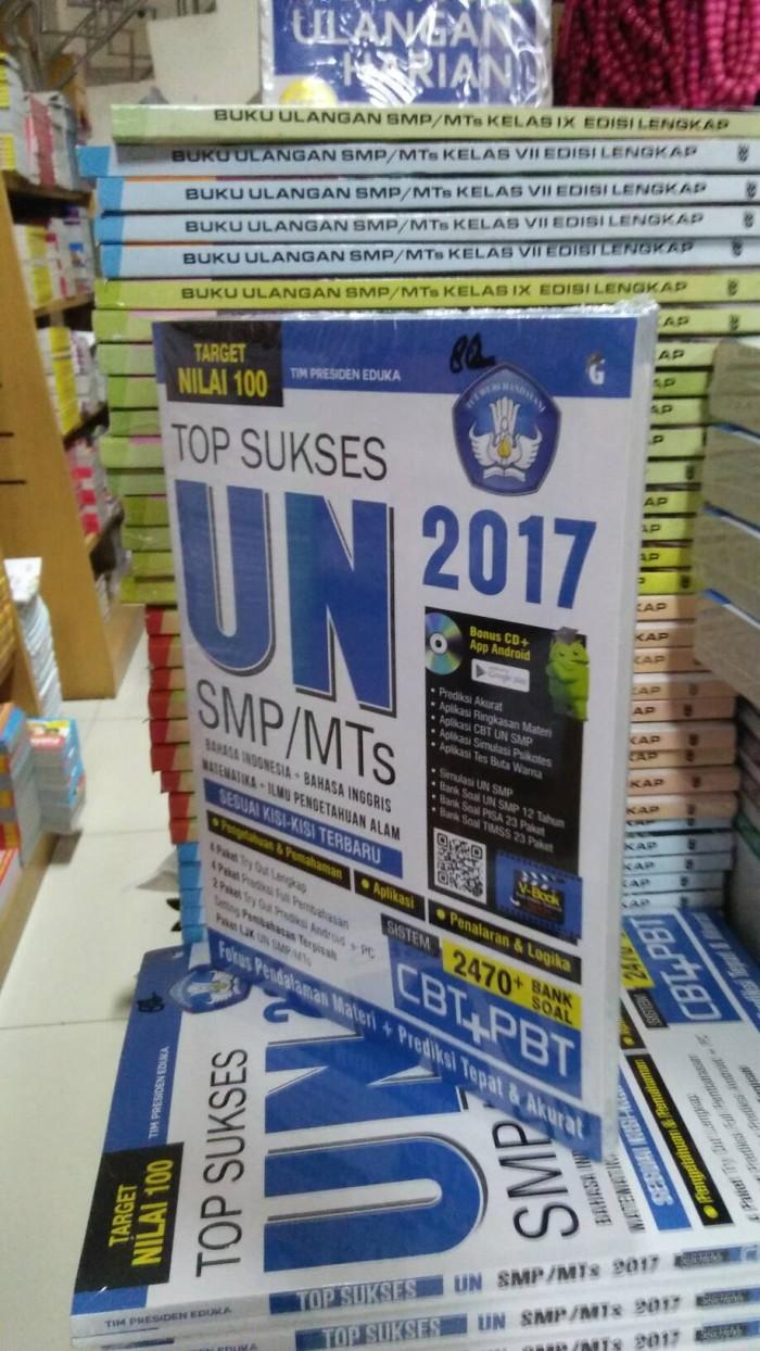 Target Nilai 100 Top Sukses UN SMP/MTs 2017 CBT&PBT +CD
