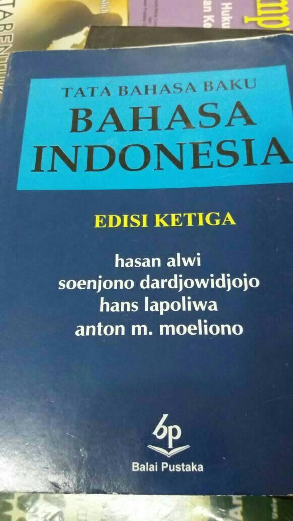 Foto Produk TATA BAHASA BAKU BAHASA INDONESIA dari rheny book store