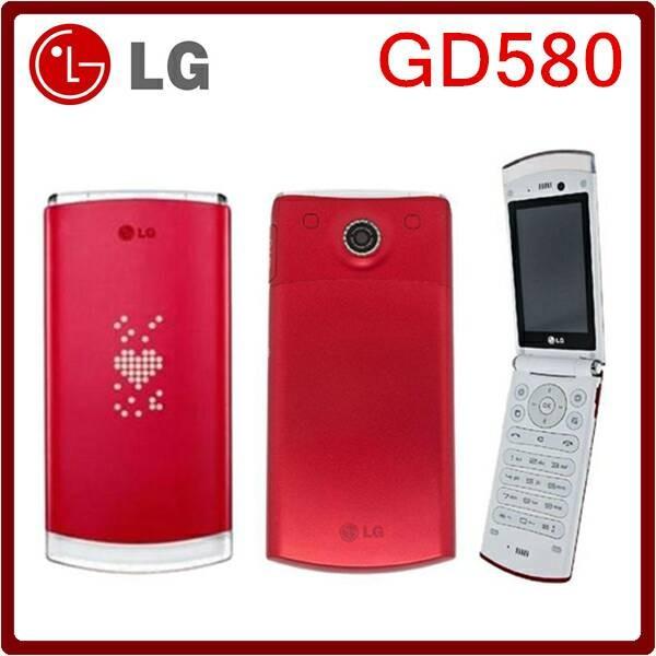Foto Produk LG Lollipop Cookie GD580 RED, PINK, BLUE UNLOCK ALL GSM INDONESIA dari HendiUnikShop