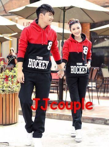 harga Jaket couple / baju pasangan / sweater cople hockey Tokopedia.com