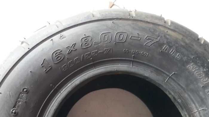 harga Ban atv ukuran 16x8.00-7 on road 110cc Tokopedia.com