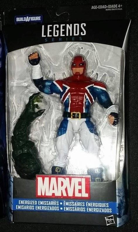 Marvel Legends Civil War Series Captain Britain Action Figure