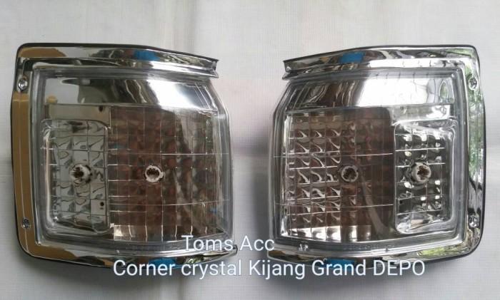 harga Corner lamp kristal toyota kijang grand 1993-1996/lampu sein depan Tokopedia.com