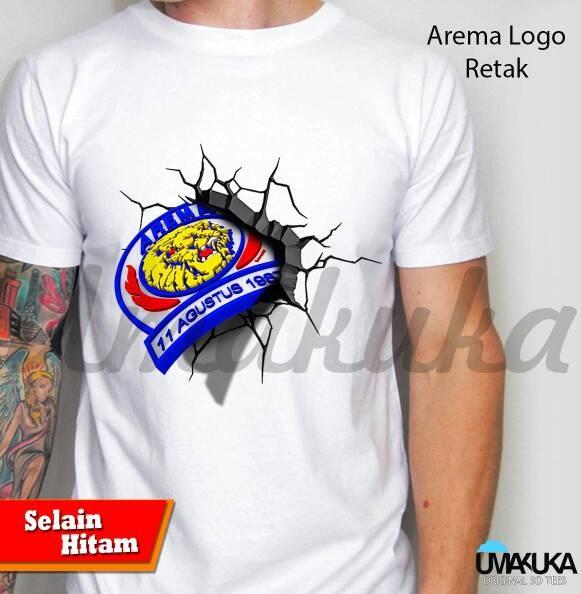 Jual Kaos 3d Arema Logo Kaos3d Clothing Tokopedia Gambar