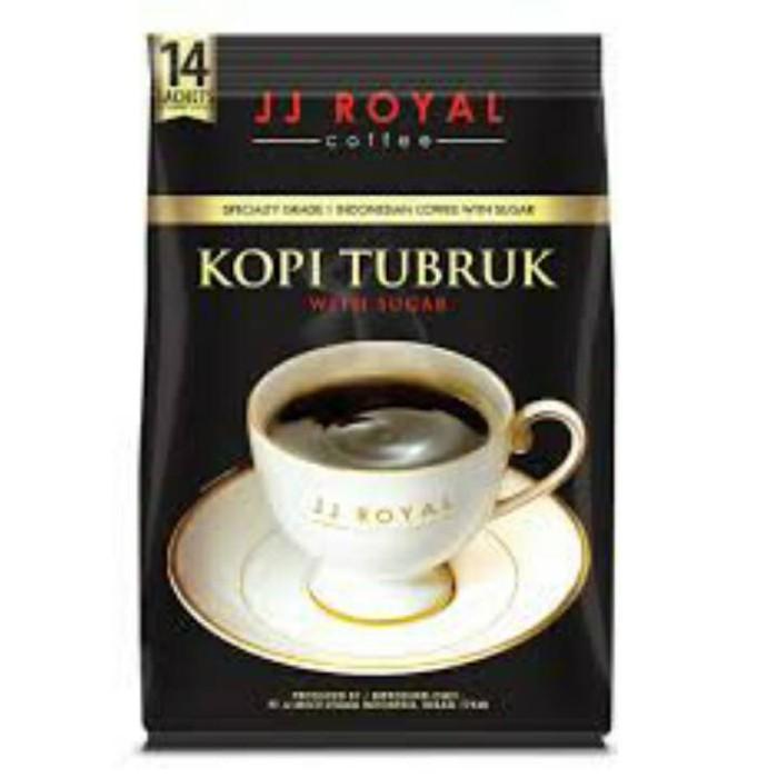harga Jj royal coffee kopi tubruk with sugar 14 sachets Tokopedia.com