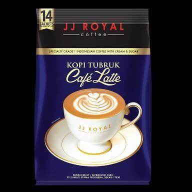 harga Jj royal coffee kopi tubruk cafe latte 14 sachets Tokopedia.com
