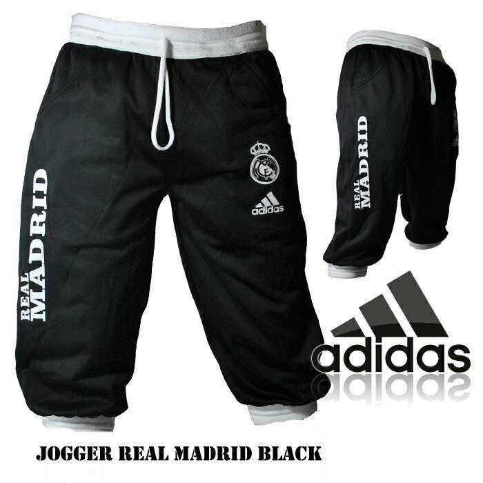harga Celana jogger pendek real madrid h   celana olahraga   celana training Tokopedia.com