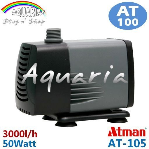 harga Atman At-105 Pompa Celup Aquarium Kolam Submersible Water Pump Tokopedia.com