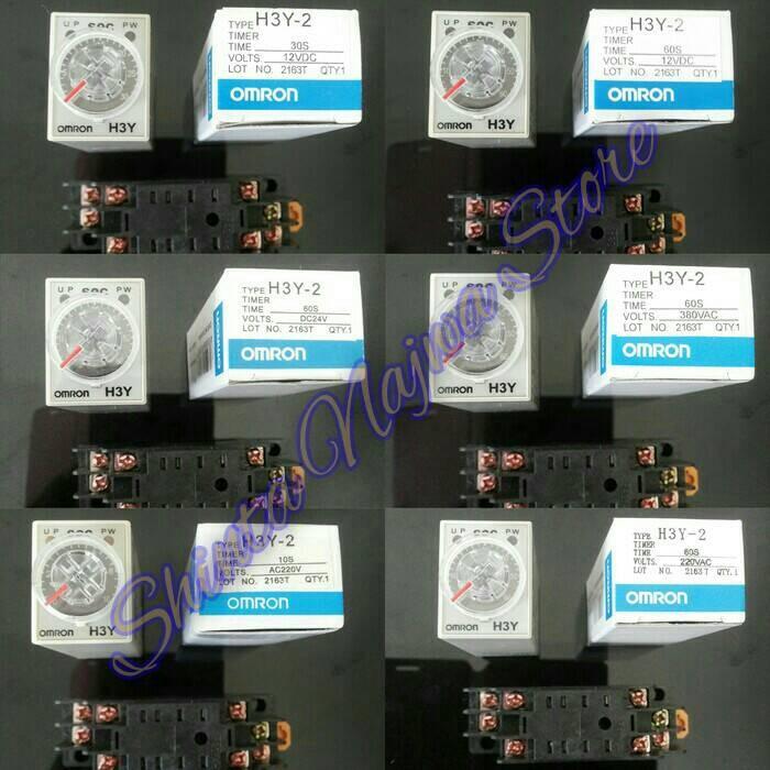 Jual omron h3y 2 delay timer relay 220v 60 detik shinta najwa omron h3y 2 delay timer relay 220v 40 publicscrutiny Choice Image