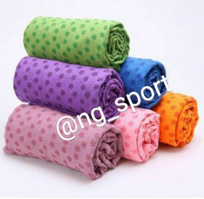harga Handuk matras yoga / towel yogamat /handuk yoga Tokopedia.com