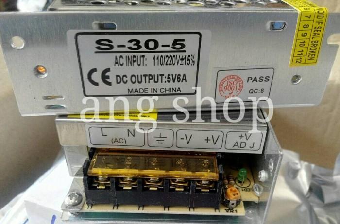 harga Power supply switching 5v 6a Tokopedia.com