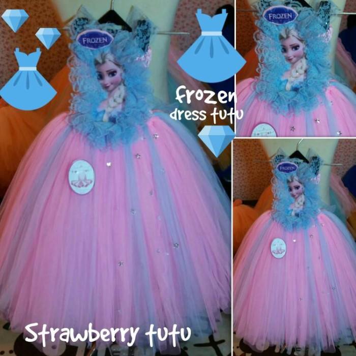 harga Dress tutu elsa pink Tokopedia.com