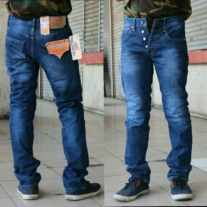 harga Celana jeans levis original 501 biowash scraf light / impor usa Tokopedia.com