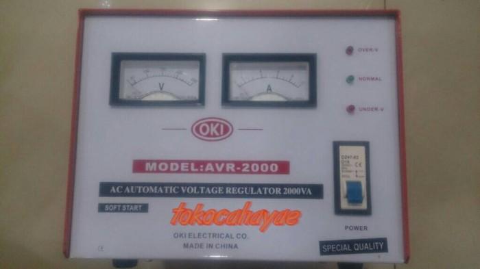 harga Stabilizer regulator listrik oki 2000 watt stabiliser Tokopedia.com