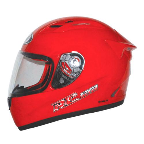 harga Helm kyt rc 7 rc seven rc7 fullface full red solid merah Tokopedia.com