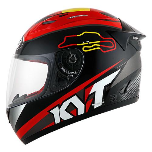 Helm KYT RC 7 RC Seven RC7 FullFace Full Black Red Seri 15